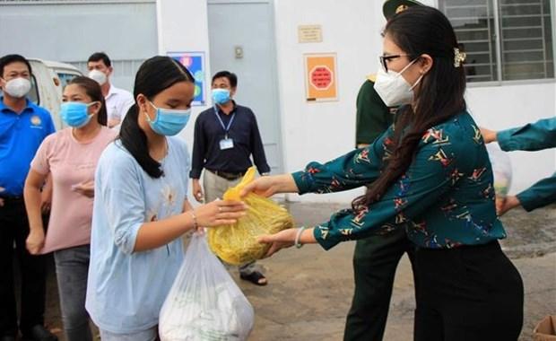 Ciudad Ho Chi Minh pide apoyo del Gobierno a favor de los afectados por el COVID-19 hinh anh 1