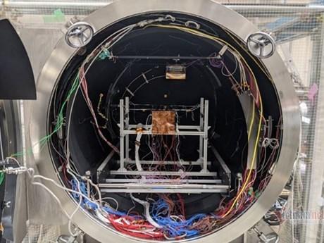 Satelite vietnamita NanoDragon completa las pruebas finales en Japon hinh anh 1
