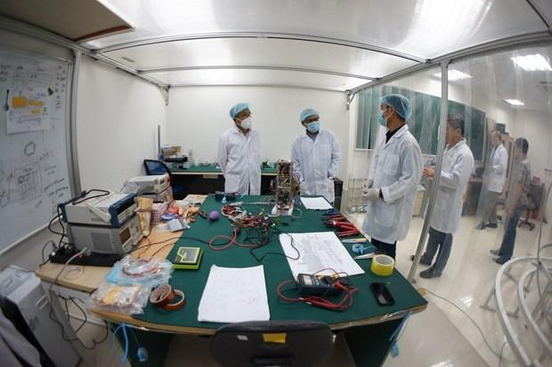 Satelite vietnamita NanoDragon completa las pruebas finales en Japon hinh anh 2