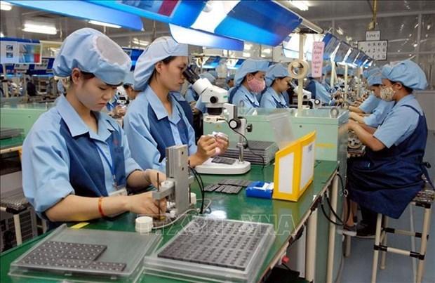 Industria electronica de Vietnam atrae inversion foranea pese a pandemia de COVID-19 hinh anh 1