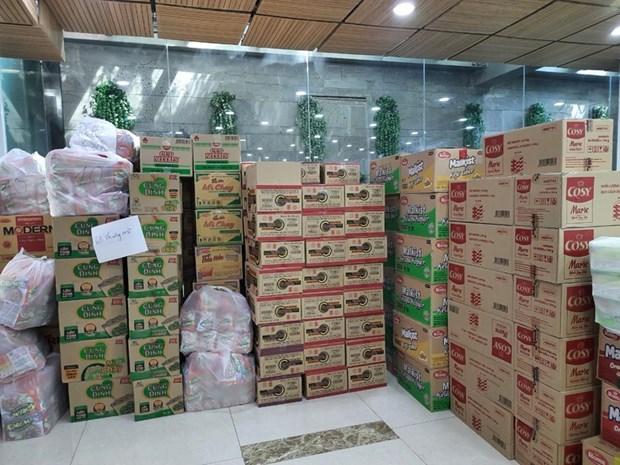 Consulesa honoraria de Sudafrica apoya a hospitales de campana vietnamitas hinh anh 1