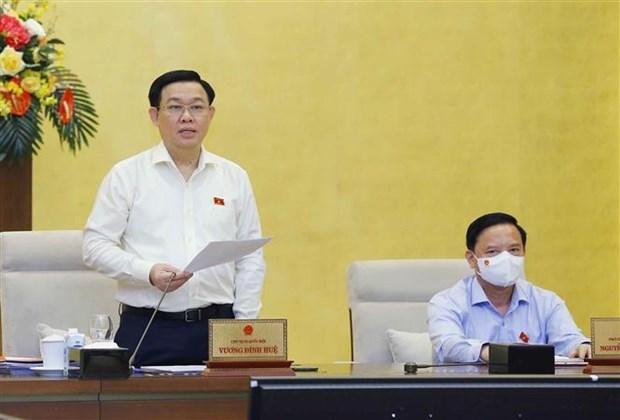 Comite Permanente de la Asamblea Nacional de Vietnam concluye su segunda reunion hinh anh 1