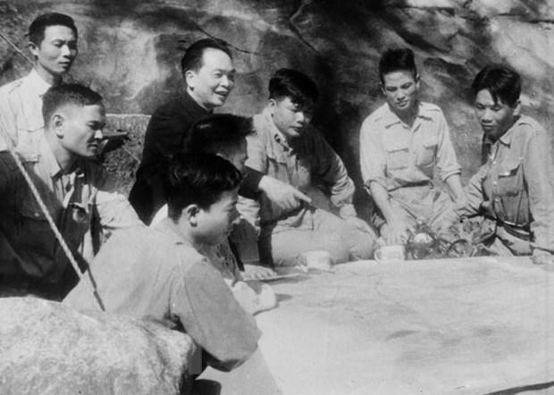 Recuerdan al general Vo Nguyen Giap a traves de exhibicion virtual hinh anh 1