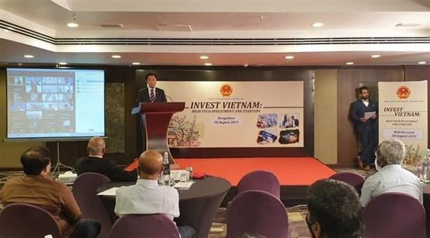 Vietnam y la India promueven cooperacion en startups e innovacion hinh anh 2