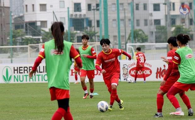 Vietnam competira en septiembre en ronda eliminatoria de Copa Asiatica femenina de futbol 2022 hinh anh 1