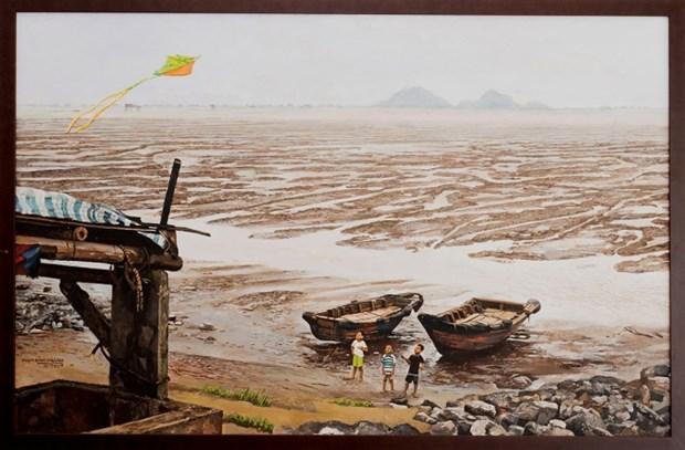 COVID-19: Exposicion en linea, solucion segura para disfrutar del arte en Vietnam hinh anh 1