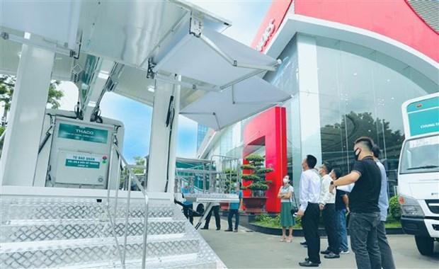 Establecen modelo de instalacion medica movil en localidades vietnamitas hinh anh 1