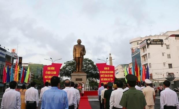 Conmemoran aniversario 133 del natalicio de extinto presidente vietnamita Ton Duc Thang hinh anh 2