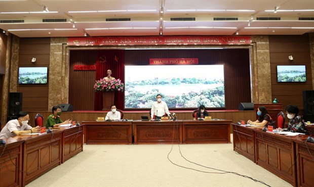 Hanoi prolongara las medidas de distanciamiento social hinh anh 1