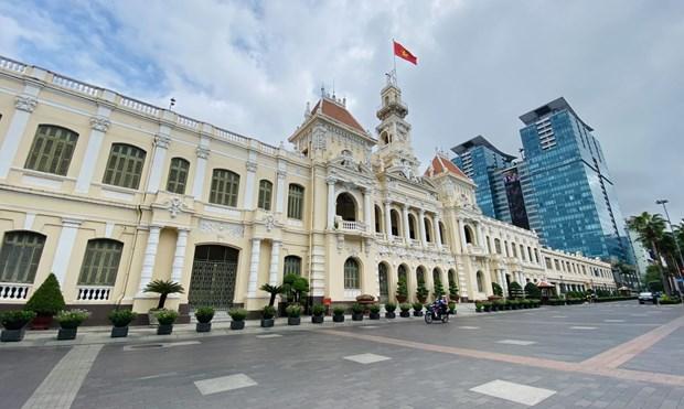 Ciudad Ho Chi Minh busca mejorar eficiencia en la lucha contra el COVID-19 hinh anh 1