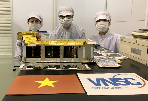 Satelite vietnamita de NanoDragon se lanzara en octubre proximo hinh anh 1