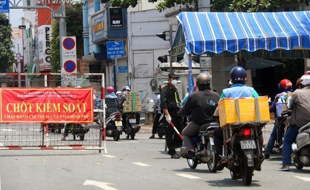 Reforzara Ciudad Ho Chi Minh medidas preventivas de COVID-19 desde el 23 de agosto hinh anh 1