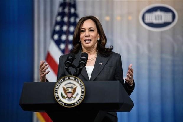 Vicepresidenta de EE.UU. parte de Washington rumbro a Singpur y Vietnam hinh anh 1