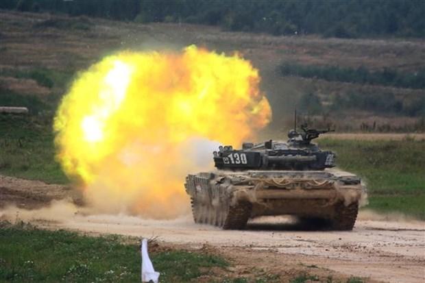 Vietnam participa en concurso de Army Games 2021 en China hinh anh 1