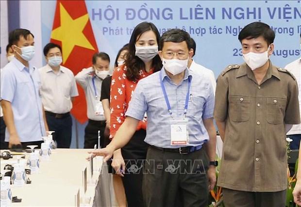 Revisan en Vietnam preparativos en visperas de la 42 reunion de Asamblea Interparlamentaria de ASEAN hinh anh 1