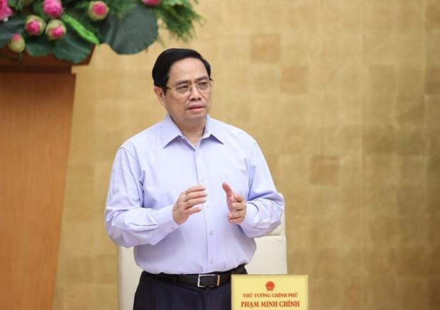 Primer ministro de Vietnam insta a reforzar medidas contra el COVID-19 hinh anh 1
