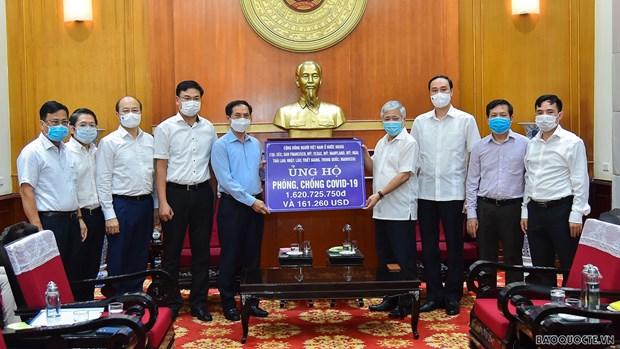Canciller vietnamita destaca conclusion del Buro Politico sobre labores relativas a los coterraneos en ultramar hinh anh 2
