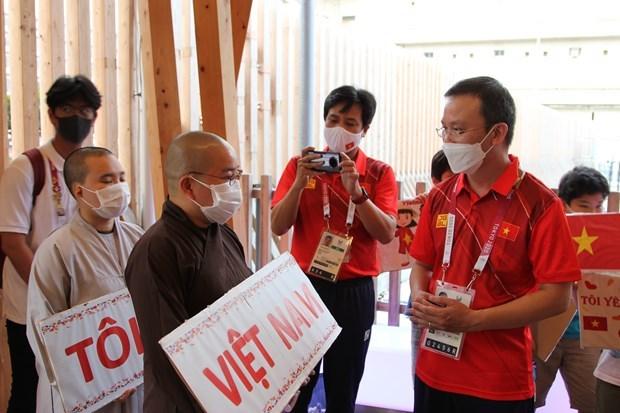 Alienta comunidad vietnamita en Japon a deportistas connacionales en Juegos Paralimpicos de Tokio hinh anh 1