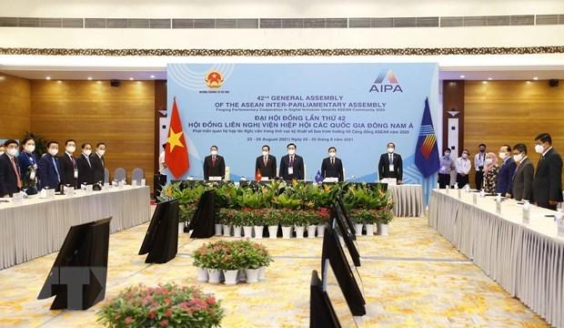 Reafirman participacion proactiva de Vietnam en la AIPA 42 hinh anh 1