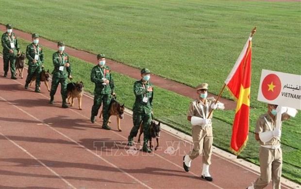 Vietnam participa en competencias de Juegos Militares 2021 en Argelia hinh anh 1