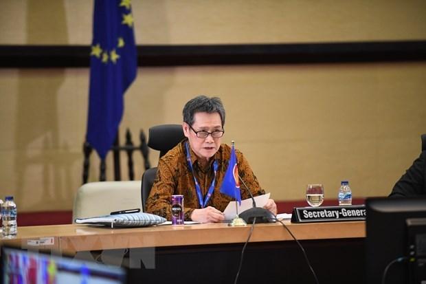 ASEAN trabaja por convertirse en comunidad inclusiva y resiliente a pesar del COVID-19 hinh anh 1