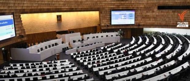 Camara de Representantes de Tailandia aprueba proyecto de presupuesto para 2022 hinh anh 1