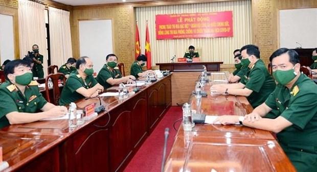 Ejercito de Vietnam lanza movimiento de emulacion contra el COVID-19 hinh anh 1