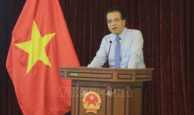 Embajada de Vietnam en Rusia impulsa la diplomacia de las vacunas hinh anh 1