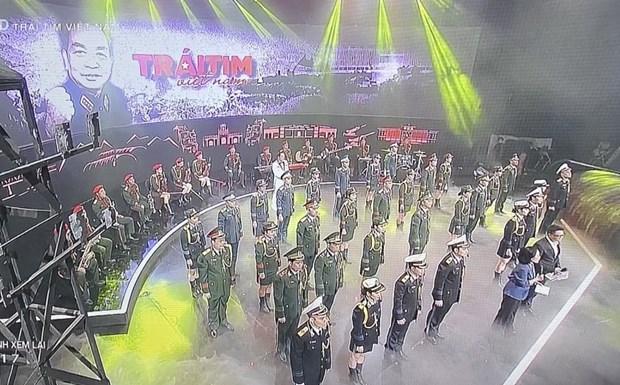 Programa televisivo especial homenajea al general Vo Nguyen Giap por su natalicio hinh anh 1