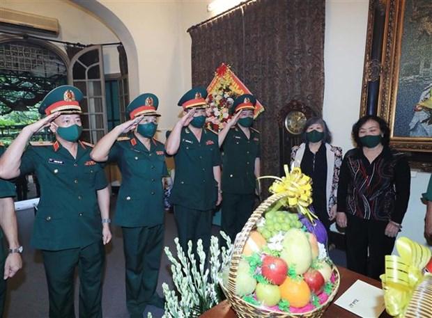 Ministerio de Defensa rinde homenaje al general Vo Nguyen Giap hinh anh 2