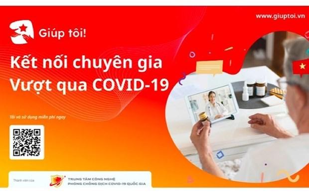 Lanzan en Vietnam proyecto tecnologico para apoyar a personas afectadas por el COVID-19 hinh anh 1