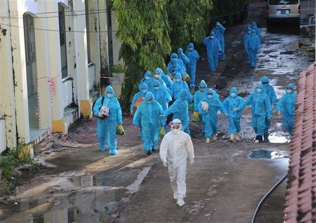 Vietnam suma segundo dia con mas de 10 mil casos de COVID-19 hinh anh 1