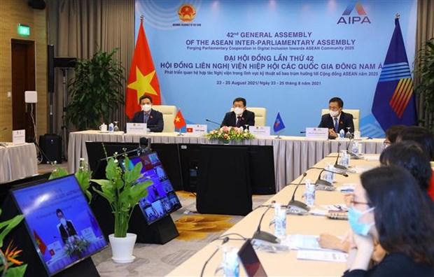 AIPA 42: Vietnam propuso recomendaciones para garantizar ciberseguridad hinh anh 2