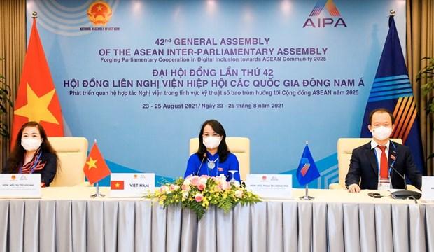 AIPA 42: Vietnam presenta medidas para fomentar capacidad empresarial hinh anh 1