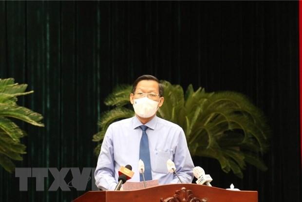 Elegido Phan Van Mai presidente del Comite Popular de Ciudad Ho Chi Minh hinh anh 1