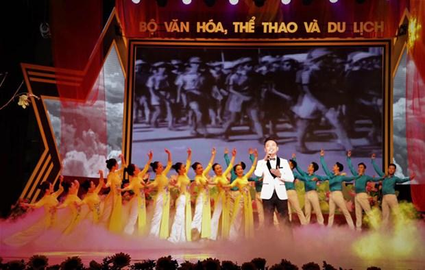 Efectuaran en Vietnam programa artistico en conmemoracion de efemerides nacionales hinh anh 1
