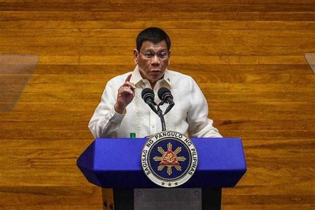 Rodrigo Duterte se postulara para vicepresidente de Filipinas el proximo ano hinh anh 1