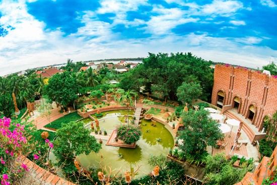 Exploran parque con obras hechas de terracota en Vietnam hinh anh 1