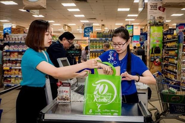 Vietnam por utilizar bolsas de plasticos amigables con el medioambiente para 2025 hinh anh 1