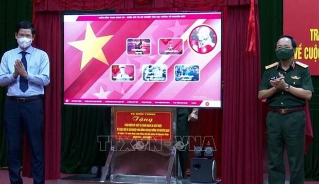 Obsequian software de informaciones sobre general Vo Nguyen Giap para provincia vietnamita hinh anh 1
