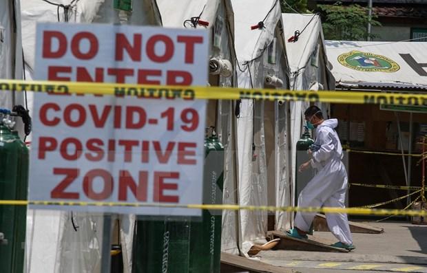 Filipinas reporta mayor cifra diaria de nuevos pacientes del COVID-19 hinh anh 1