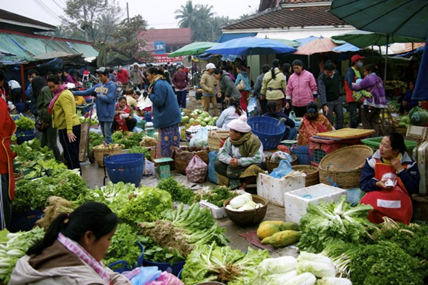 Laos experimenta mayor aumento de inflacion en 11 meses hinh anh 1