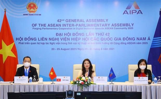 Vietnam aboga por ampliar nexos entre AIPA y otras organizaciones hinh anh 1