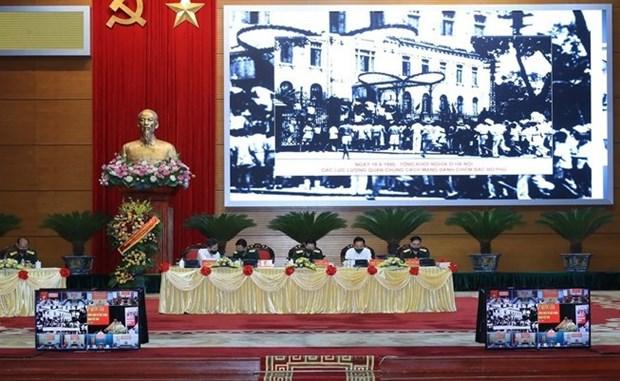 Enaltecen ejemplo del general Vo Nguyen Giap como prestigioso dirigente de Vietnam hinh anh 2