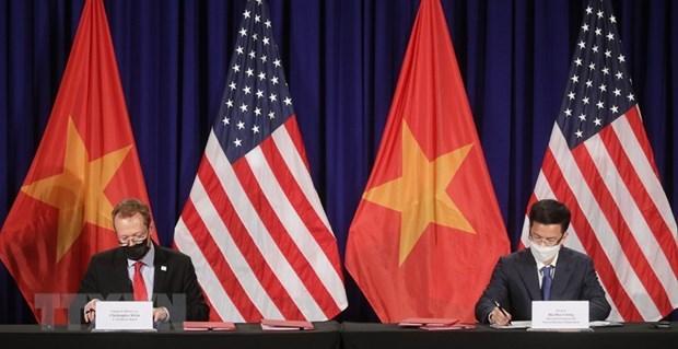 Construiran nueva sede de la Embajada de Estados Unidos en Vietnam hinh anh 1