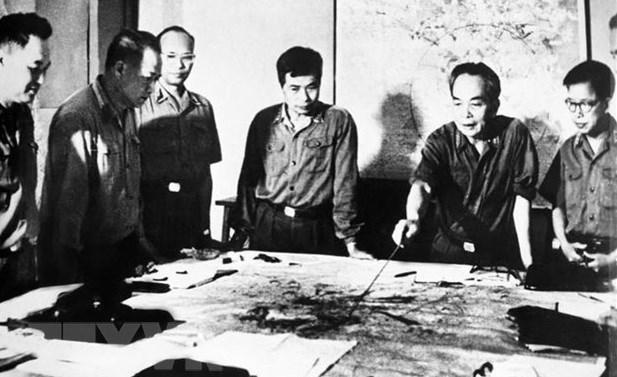 Enaltecen ejemplo del general Vo Nguyen Giap como prestigioso dirigente de Vietnam hinh anh 1
