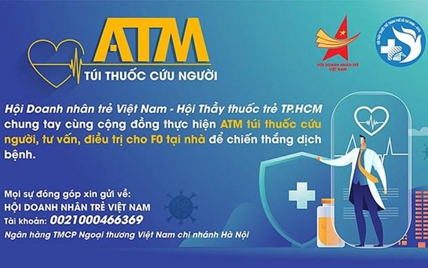 Instalaran en Ciudad Ho Chi Minh cajeros automaticos en respuesta a COVID-19 hinh anh 1