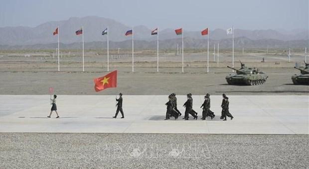 Army Games 2021: Vietnam ocupa octavo lugar luego de tres dias de competencias hinh anh 1