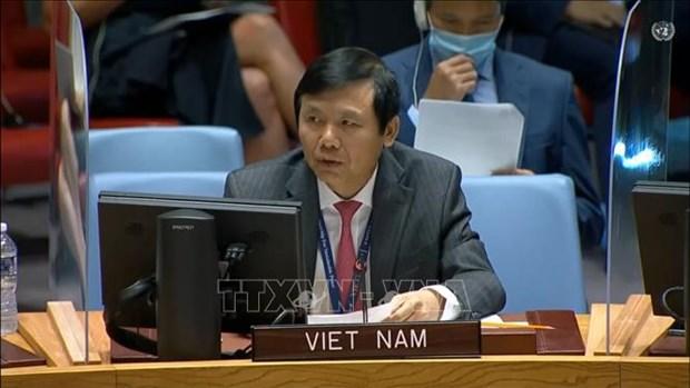 Vietnam exhorta a garantizar la seguridad del proceso electoral en Iraq hinh anh 1