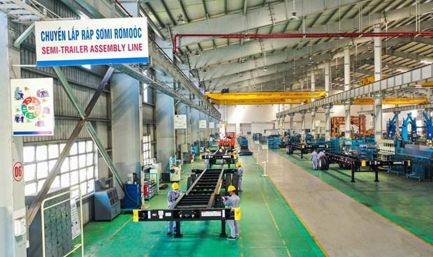 Empresa vietnamita THACO exportara mas de seis mil semirremolques a Estados Unidos hinh anh 1